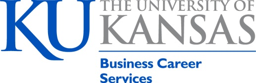 KU Business Internship Reporting Form Header Image